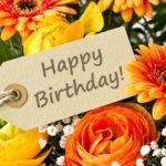 Happy Birthday Ecard Flowers