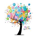 Happy Birthday Ecard Tree