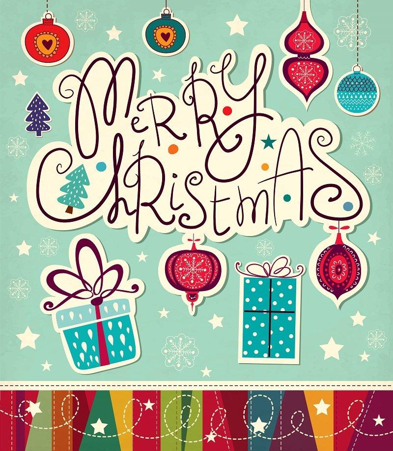 Christmas ecard v Christmas cards