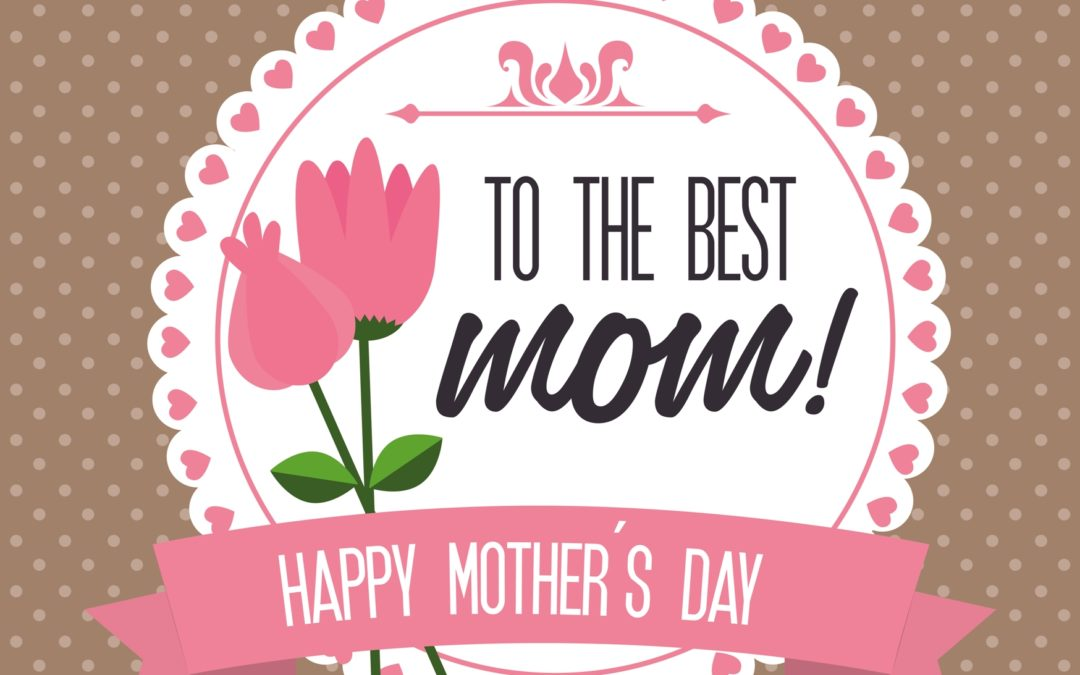 Ecard for Mothers day USA. Sunday, 13 May 2018