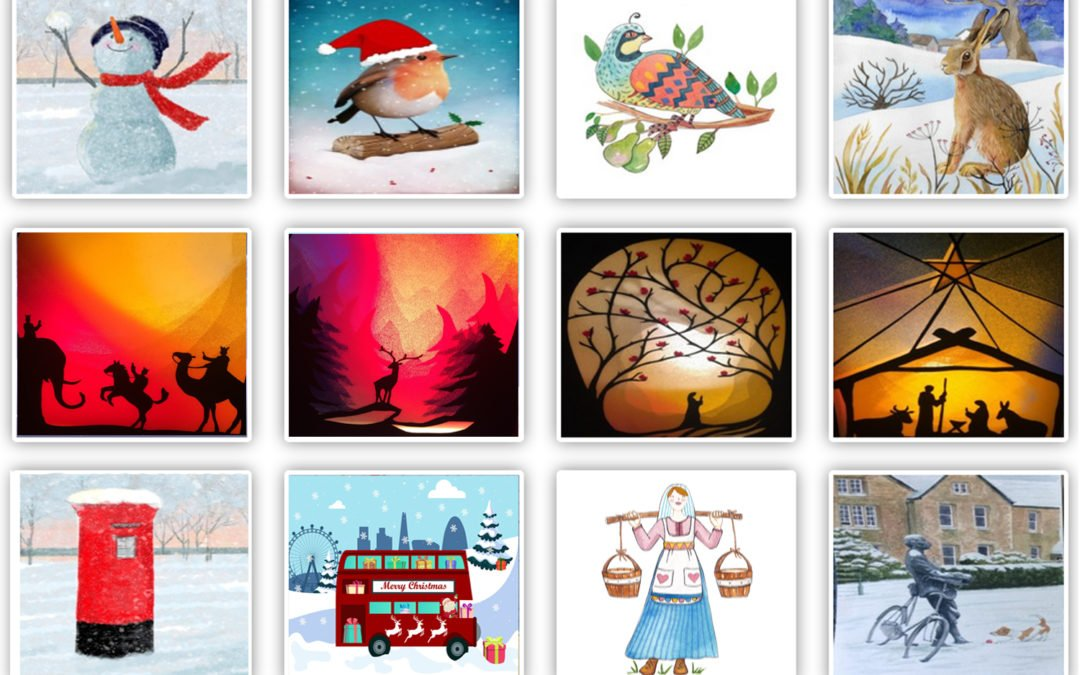 Christmas video eCards starring you