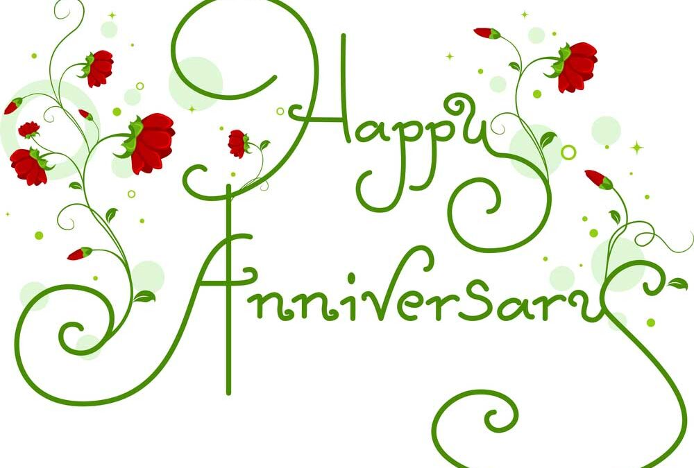 Most popular charity anniversary eCard is …
