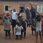 African Children Singing We Wish you a Merry Christmas