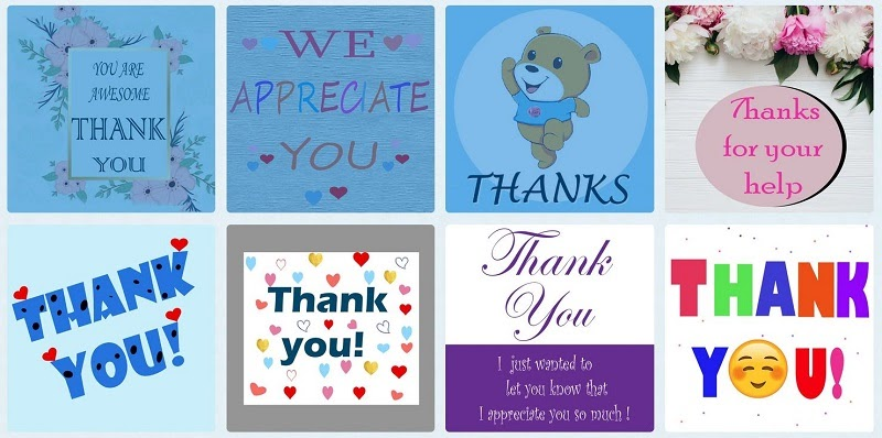 Charity thank you eCard – when same old cards will not do